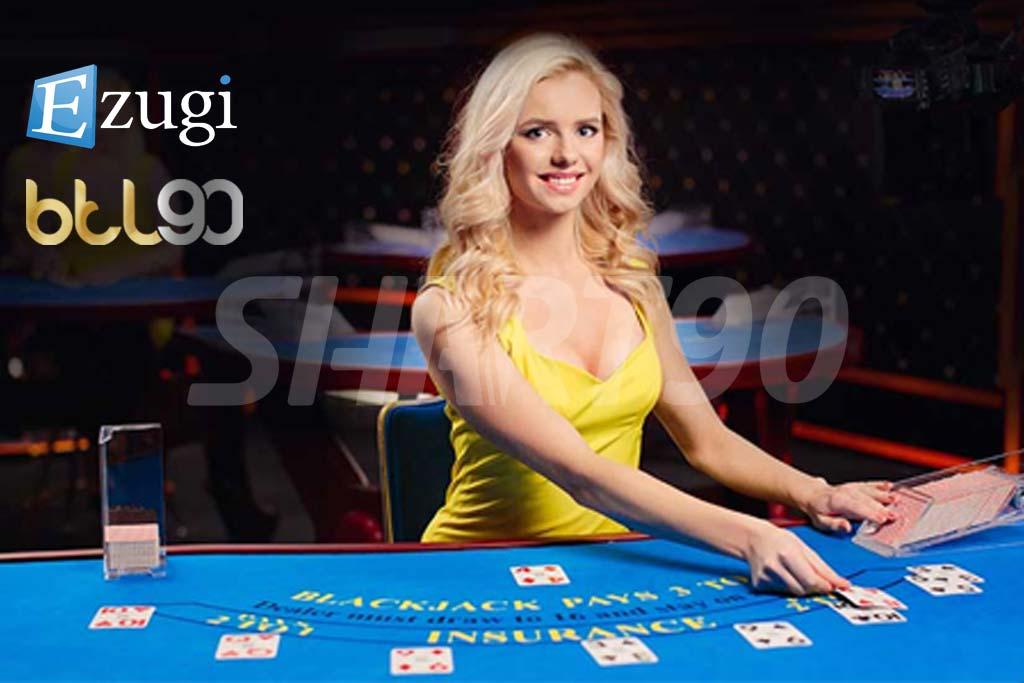 میز کازینو زنده ایزوگی در سایت BTL90